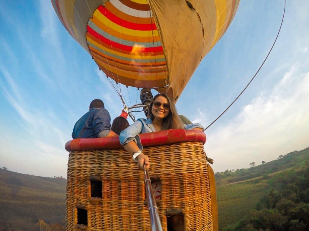 Voo de Balão, em Boituva/SP