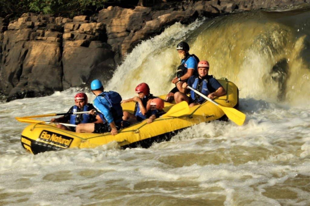Rafting pelo Rio Sorocaba