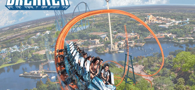 Ice Breaker - SeaWorld Orlando