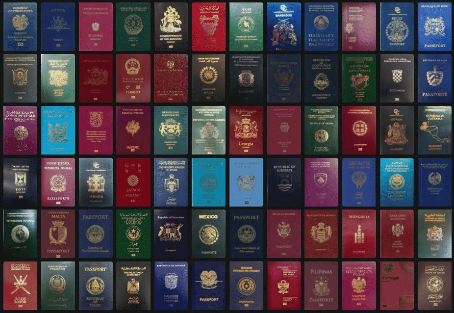 Passaportes mais valiosos do mundo