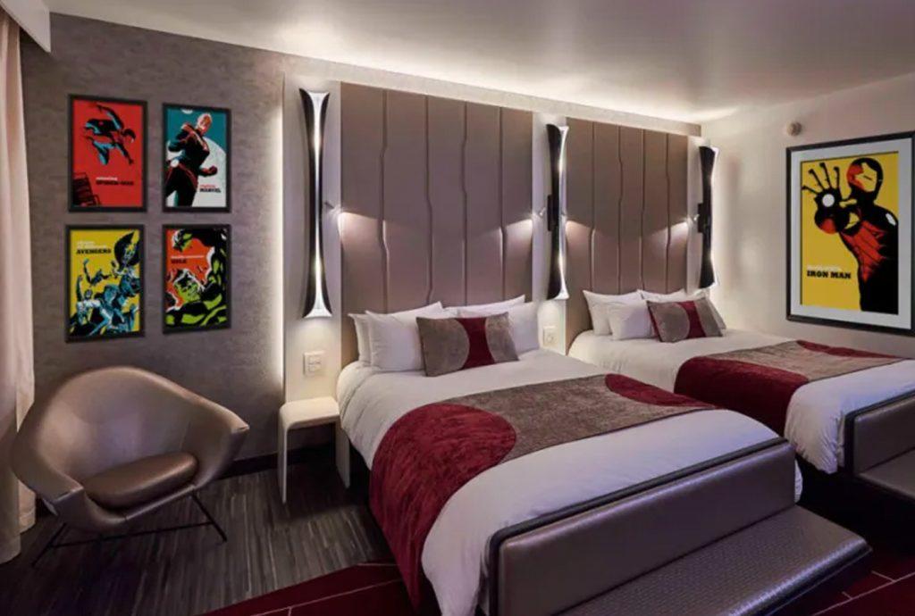 Hotel da Marvel na Disney Paris