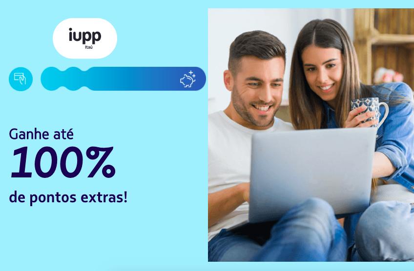 Iupp com até 100% de bônus LATAM Pass
