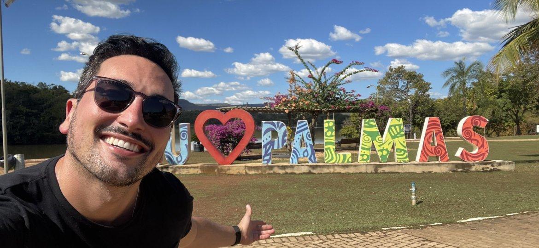 Estevam em Palmas - Tocantins