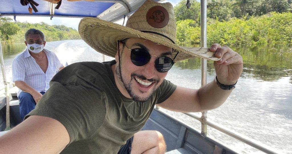 Aventura do Estevam pela Amazonia