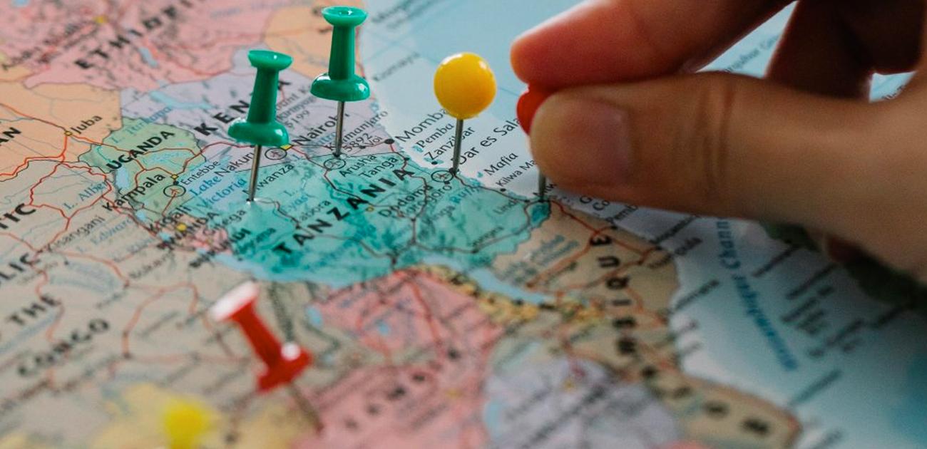 Como planejar uma viagem com múltiplos destinos?