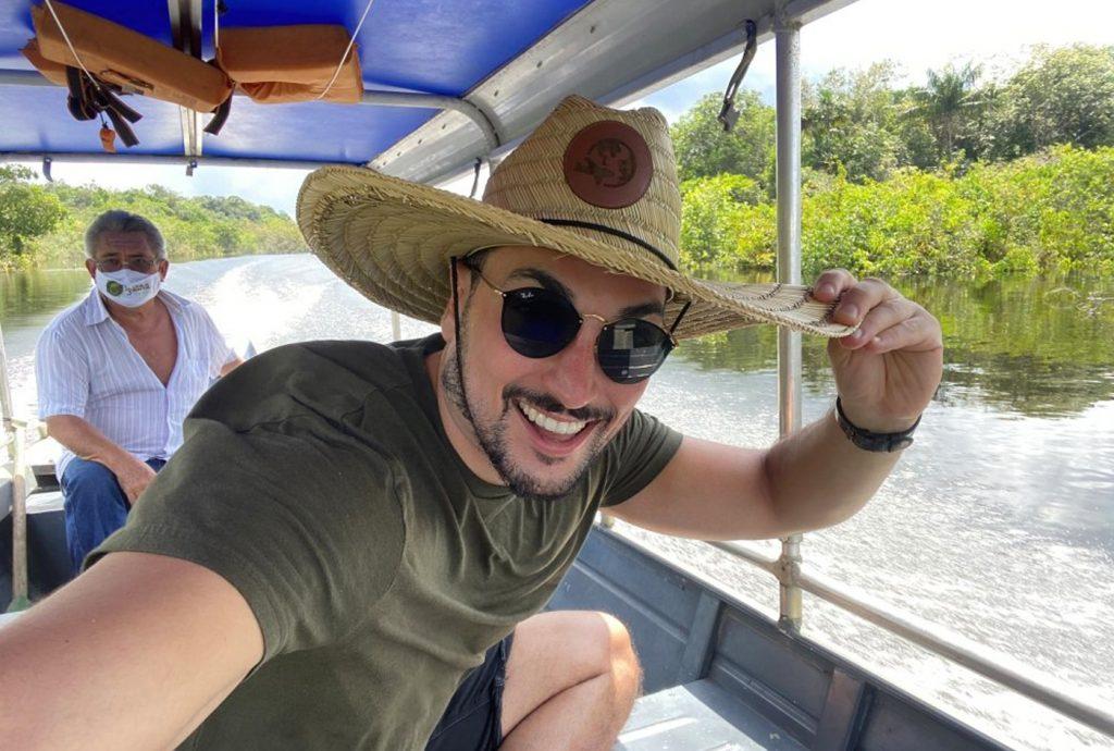 Lucas Estevam na Amazônia