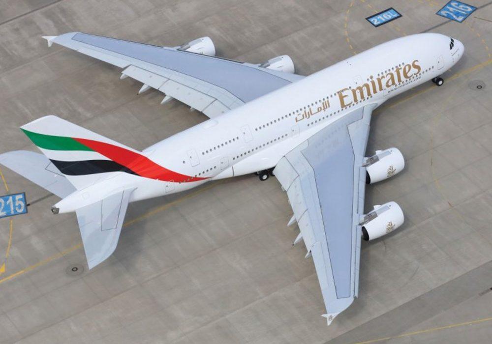 A380 da Emirates poderá interligar São Paulo a Dubai
