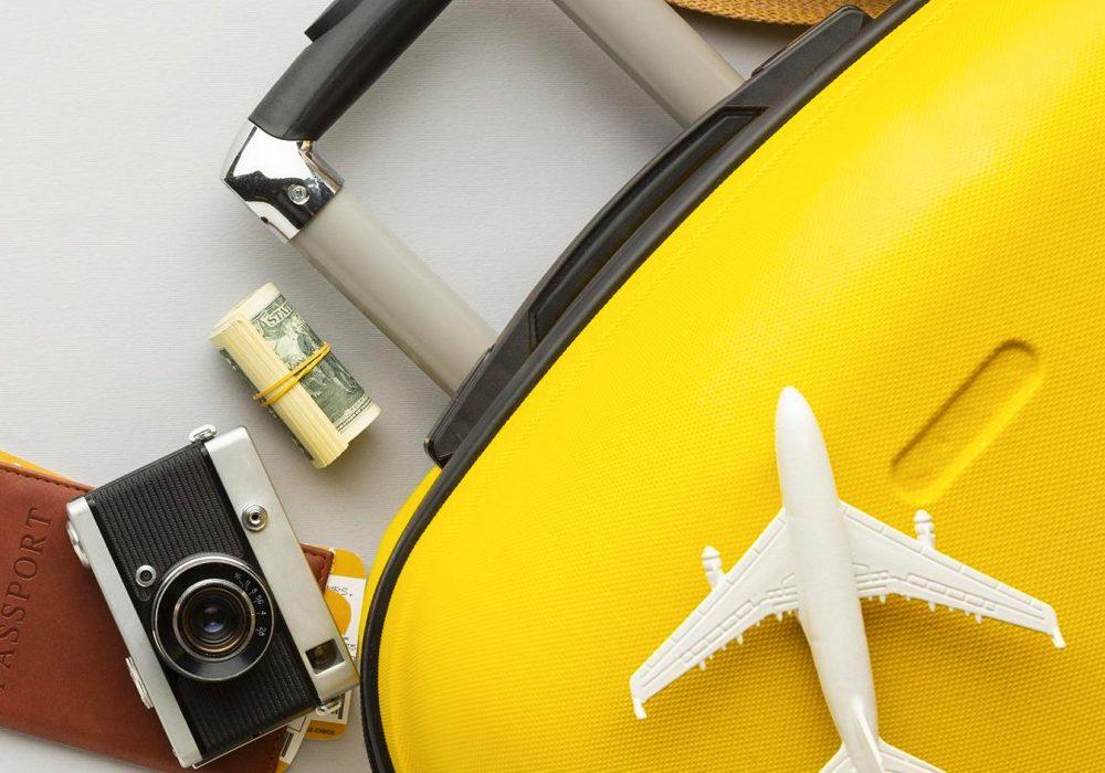 O que não falta na mala de um viajante internacional
