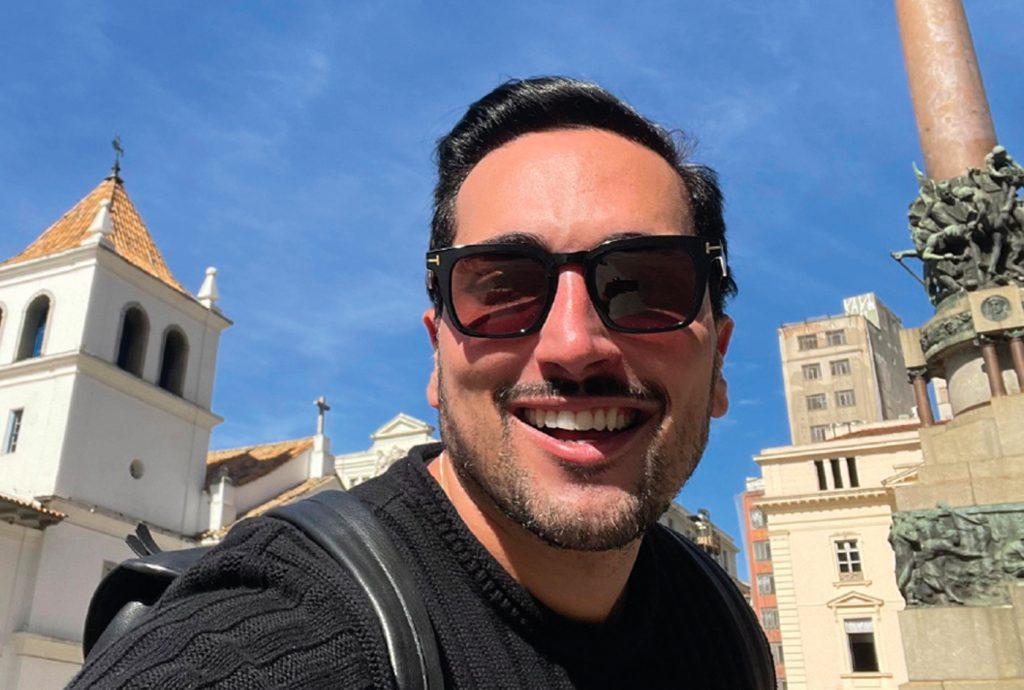 Lucas Estevam em São Paulo
