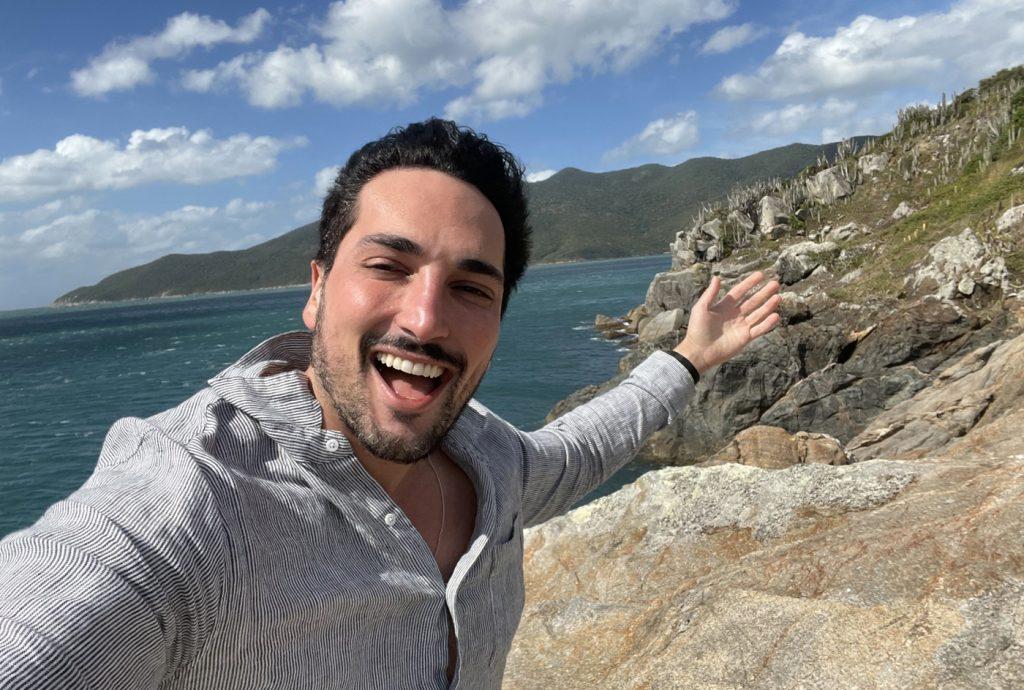 Lucas Estevam em Arraial do Cabo